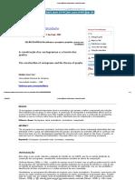 A Construção Dos Sociogramas e a Teoria Dos Grafos