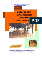 Manual Del Galponero Avipunta Pollos de Engorde v4pro