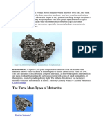geologi meteorit