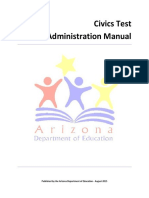 Civics Test Administration Manual Final
