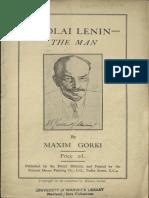 Nicolai Lenin - The Man