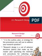 Ch 2 Research Design