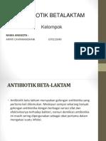 antibiotik betalaktam