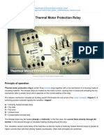 Working Principle Of Thermal Motor Protection Relay.pdf