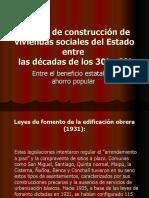 Política de Construcción de Viviendas Sociales Del Estado