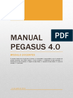 Manual Pegasus 4.0 Docentes