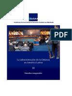Administración de la Defensa en América Latina