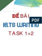 Đề Bài IELTS Writing Task 12