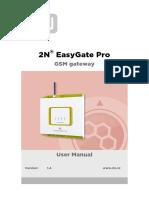 2N Easy Gate PRO User Guide en 1.4