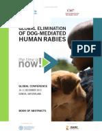 GLOBAL ELIMINATION OF DOG-MEDIATED HUMAN RABIES