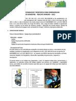 Acta de Preparacion y Respuesta Para Emergencias c.m.g - Junio