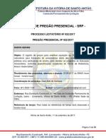 02- p.p. 022.2017 - Edital Aquisição de Ônibus Rodoviario