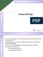 02_Arrays & Strings