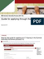 ATKearney Online Application Guide
