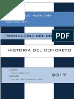 Tecnologia Del Concreto - Historia