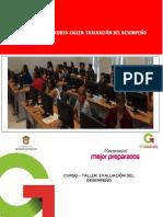 Curso-taller_ Evaluación Del Desempeño