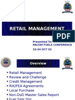 D-PACOM Retail Brief