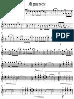 Mi Gran Noche - Saxofón Tenor