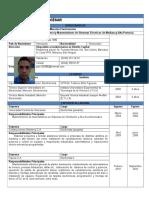 Currículum Actualizado 2017-2