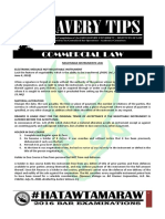 2016 Bravery Tips - Commercial Law.pdf