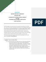 Memorandum of Agreement (08!23!17)(JDH)