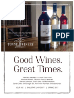 tonne winery marketing plan