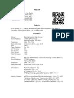 resume censored