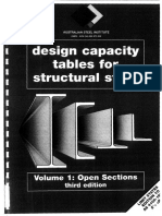 Design Capacity Tables - Vol. 1 Open Sections - ASI (1)