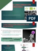 Técnicas de Caracterización Estructural