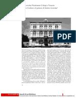 Ca' Loredan-Vendramin-Calergi a Venezia - Mauro Codussi e il palazzo di Andrea Loredan.pdf