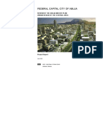 Abuja Master Plan _project Report