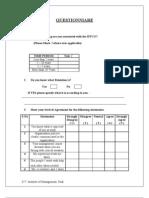 Retention Questionnaire 12