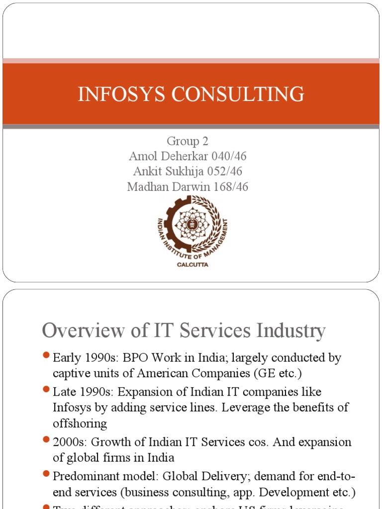 infosys case analysis gb 520