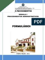 Manual de Procedimentos Administrativos - UNIR