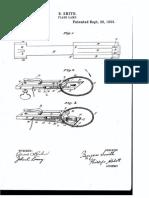 Camera shutter patent