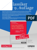 St. Galler Konzept Management Modell St.gallen Bleicher Abegglen Konzept