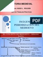 Imagenes y Periodización del Medioevo  .pptx