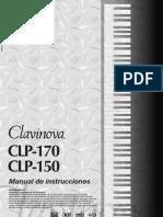 Manual Yamaha Clavinova CLP-170 Español