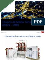 Interruptores Automaticos para Servicio Interior – ABB