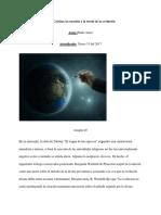 Juan Calvino La Creación y La Teoria de La Evolución