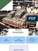 Supply Chain Of Mumbai Dabbawala