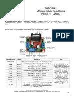 Tutorial Módulo Ponte-h l298 - Reduzido