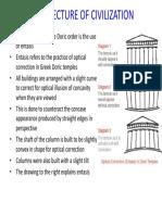 LECTURE 4 Greek Architecture 26