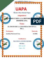 Tarea 2 Historia Social Dominicana.... Josefina.