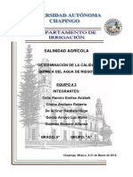 Salinidad Chapingo