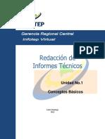 Redacción Informes Tecnicos Unidad 1
