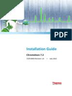 Installation Guide Chromeleon 7 2