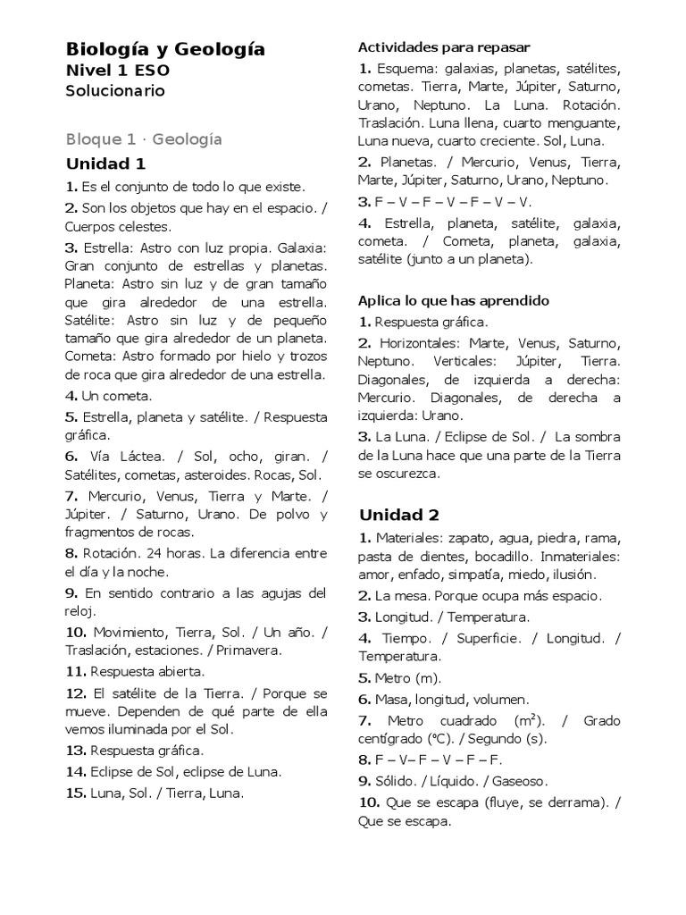 20161011094817 Solucionario Biologia Y Geologia 1 Eso