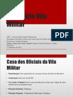 Inventário Vila Militar Deodoro