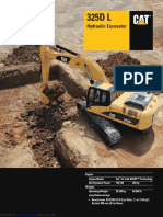 Hydraulic Excavator 325dl